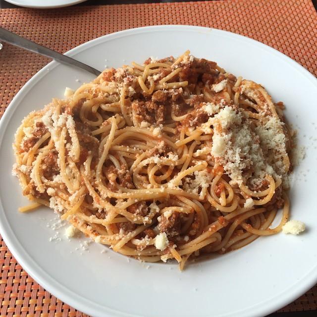Best spaget I've ever had.