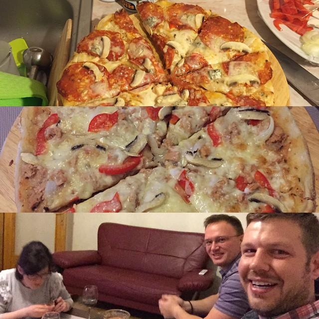 Good people, good pizza.